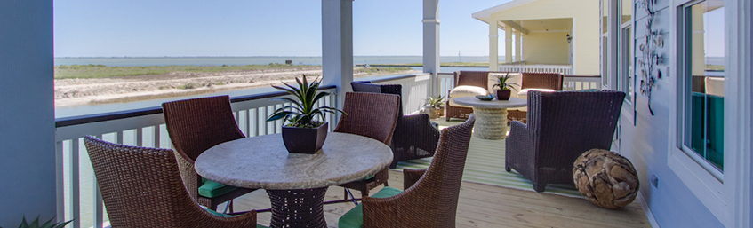 New Waterfront Home in Galveston Texas