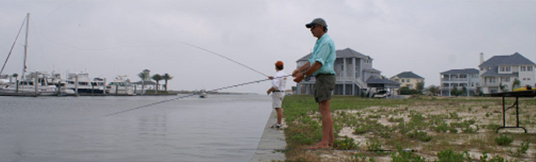 Fishing on Texas Gulf Coast